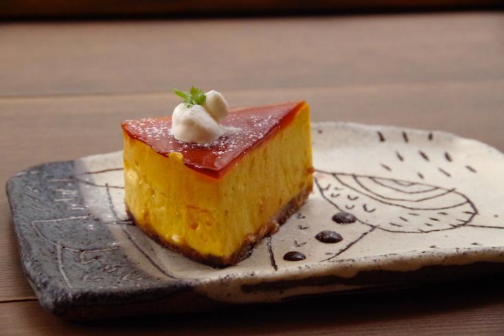 カフェケシパール_かぼちゃレアプリン風