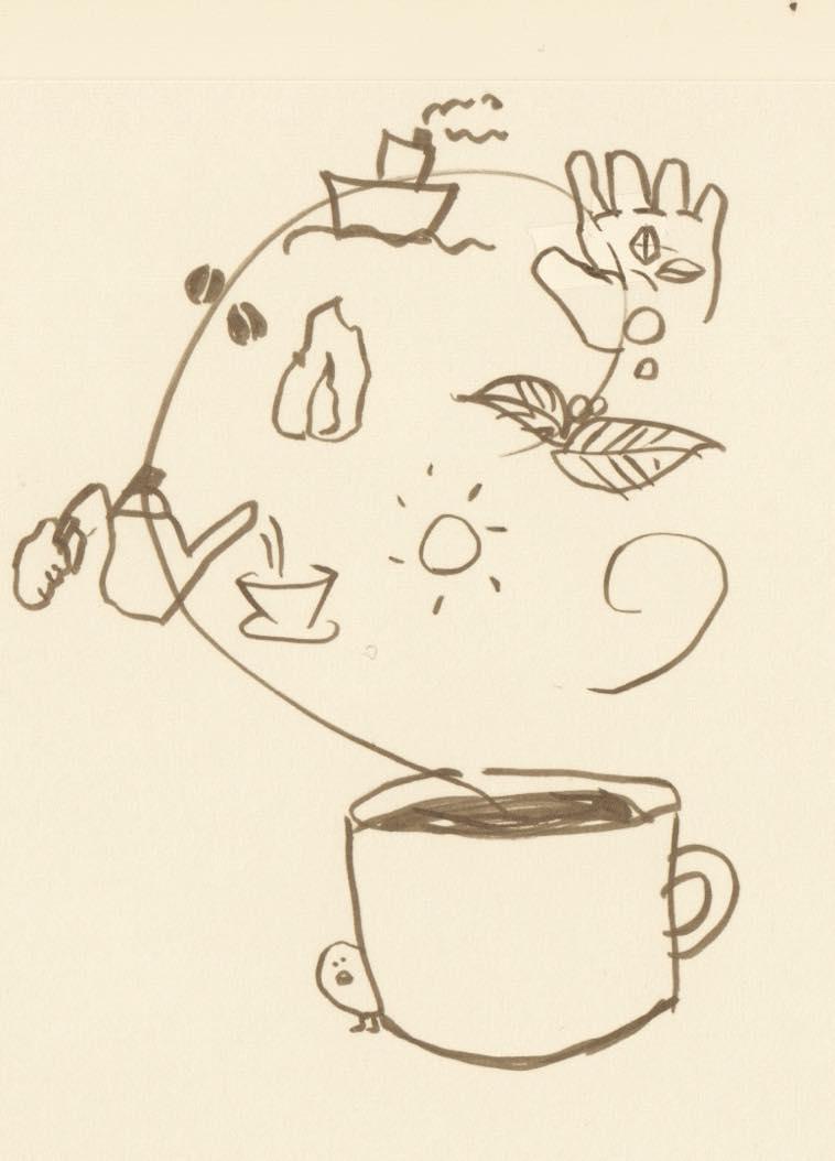 カフェケシパール_こひー